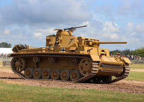 Panzer III by DavidKrigbaum