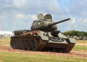 T-34/85... Comrade by DavidKrigbaum