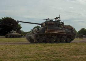 Prepare to Move (M4A2E8 and M4A1) by DavidKrigbaum