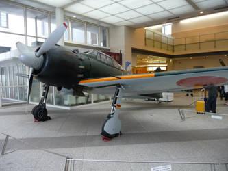 Rebuild of Zero (A6M5 Type 0 Model 52) by DavidKrigbaum