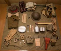 WWII 1941-42 Philippine Scout Uniform Update IV by DavidKrigbaum