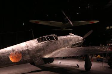 Up Where We Belong (Ki-61 and 12-Shi/Type 0) by DavidKrigbaum