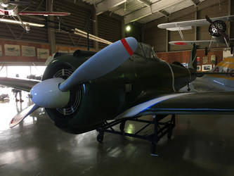 Hayabusa (Ki-43) by DavidKrigbaum