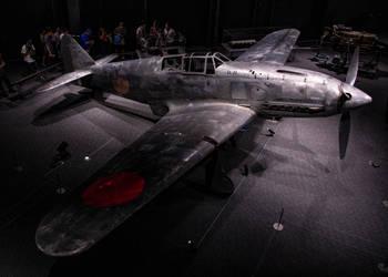 Bare (Ki-61-II-Kai) by DavidKrigbaum