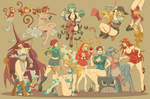 Fighting girls - Capcom Fighting Tribute by vf02ss