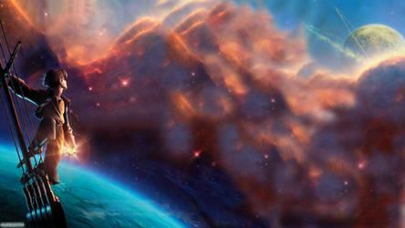 Treasure Planet Wallpaper by Auraeon99