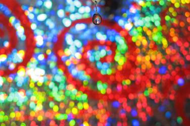 Rainbow Water Drop by Larah88