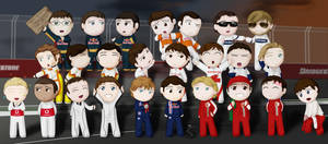 F1 2009 Drivers by Peccadillos