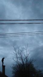 Blue chimney sweep by GheorgheLaza