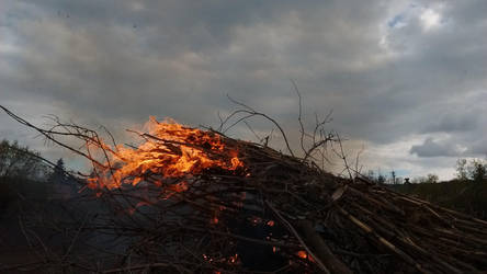 Burn 1 by GheorgheLaza