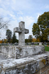 Graveyard Cross by pitadragon