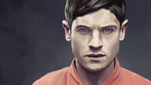 Iwan Rheon from Misfits - WIP by s3lwyn