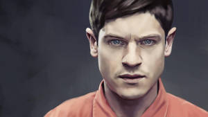 Iwan Rheon from Misfits - WIP II by s3lwyn