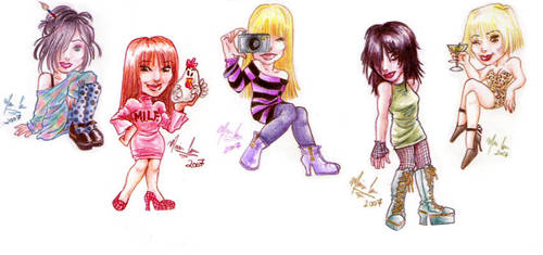 American Doll Posse by under-the-red