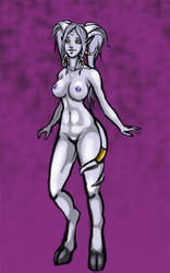 Draenei coloured scetch by Nixxia