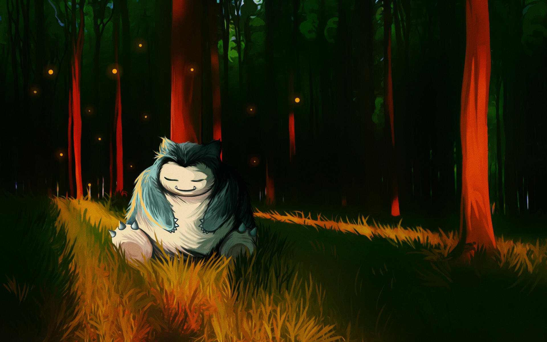 Snorlax by andrework