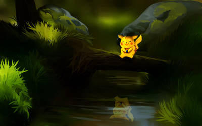 Pikachu by andrework