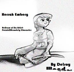 Herrah Emberg planned fanArt by twinkid