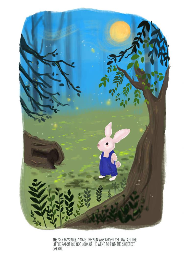 the little rabbit by mehpar