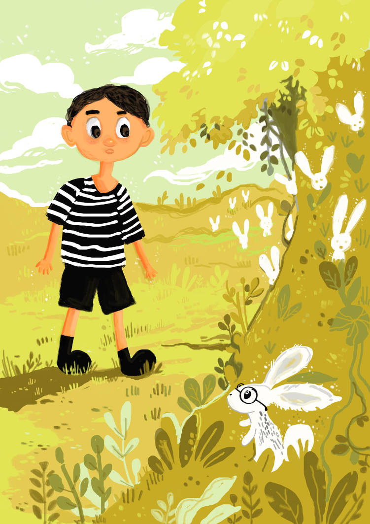 Rabbit Field by mehpar