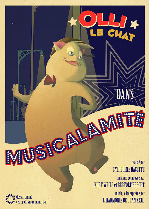 Musicalamite - Poster Officiel by oswald8