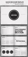 Badge - Brochure Template by DOMDESIGN