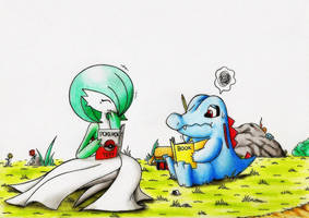 Private Tutoring for Totodile! by GTS257-CT