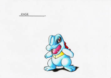 RAGE - Totodile by GTS257-CT