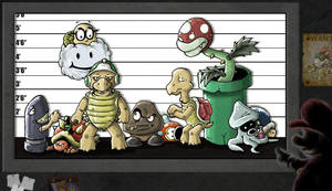 The Unusual Suspects by LeoCamacho