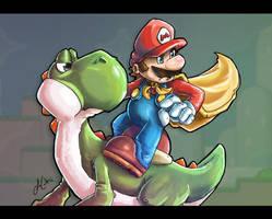 Super 16 Bit Heroes by LeoCamacho