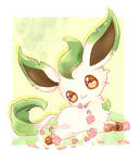 [FA] Leafeon by Shimmering-Nibs
