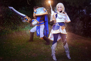 Lux and Garen - League of Legends by NunnallyLol