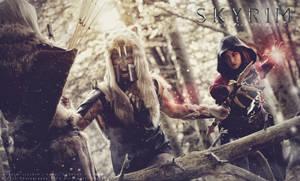 Skyrim Battle by NunnallyLol