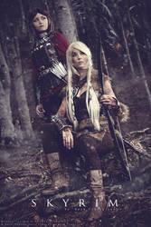 SKYRIM - The Dragonborn Comes by NunnallyLol