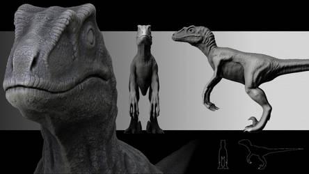 Velociraptor by Valtyr