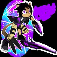 OC Character Spotlight: Surge Tarsier by Clasmaticii3