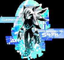 [Gift] Happy Birthday to S4PH! by Clasmaticii3