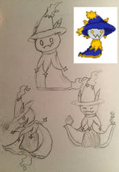 Old fakemon redraw  by House-Of-Demons