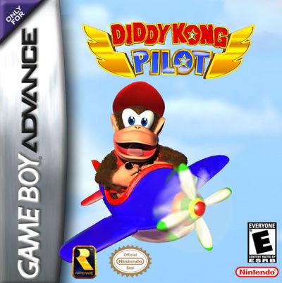 Diddy Kong Pilot Mockup Cover Art By Vinci2000 On Deviantart