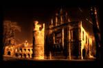 castle ruins .2 by orangebutt