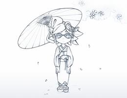 [Splatoon] Spring time Marie by Cyba-Fyba