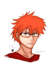 ichigo glasses  by Shadow-sah