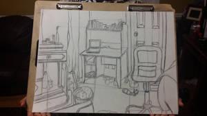 Corner of my room | Gestalt by ColorCodedShadow