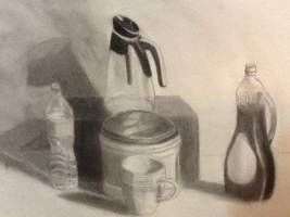 'Morning breastfast and coffee' - Still life study by ColorCodedShadow