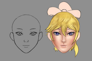 Elizabeth Face Experiment WIP by ColorCodedShadow