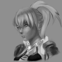 Practice Portrait #1 by ColorCodedShadow