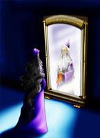 The mirror again by Zaerteltier