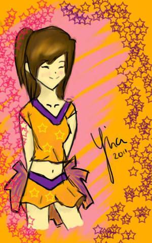 cheerleader X3 by ImpureCat