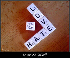Love or hate? by Tristis-soul