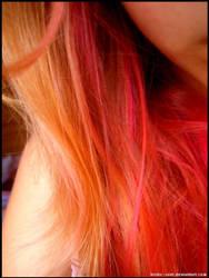 Pink hair by Tristis-soul
